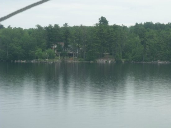 Air New England, LLC: Just before landing on Long Pond