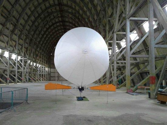 Hangar à Dirigeables d'Ecausseville : hangar