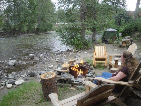 Twisp River Suites: Very relaxing