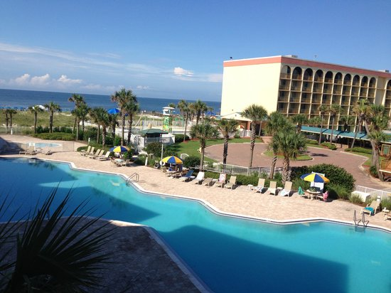 Destin West Beach and Bay Resort: Another great balcony view