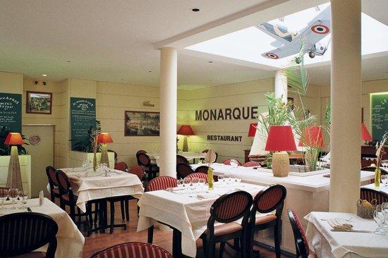 Hotel Le Monarque : Restaurant