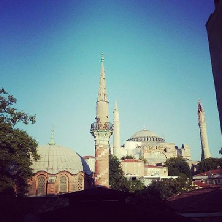 Modern Sultan Hotel: View from Room 302 of Hagia Sofia