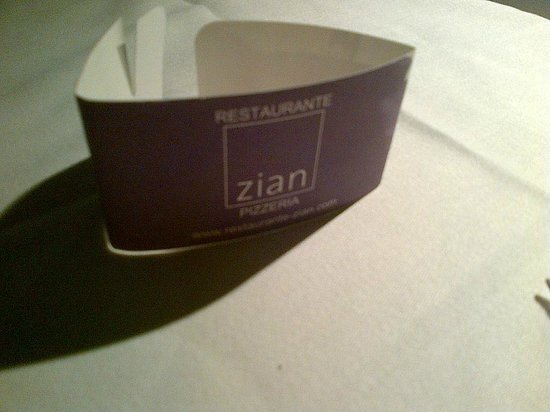 Zian Restaurant and Pizzeria : 1