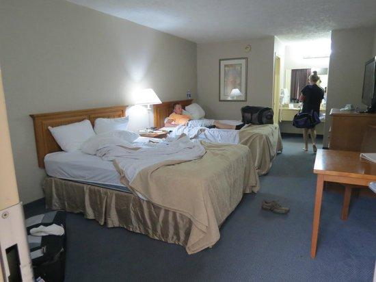 Best Western Bryson Inn: Nothing fancy, but it does the job