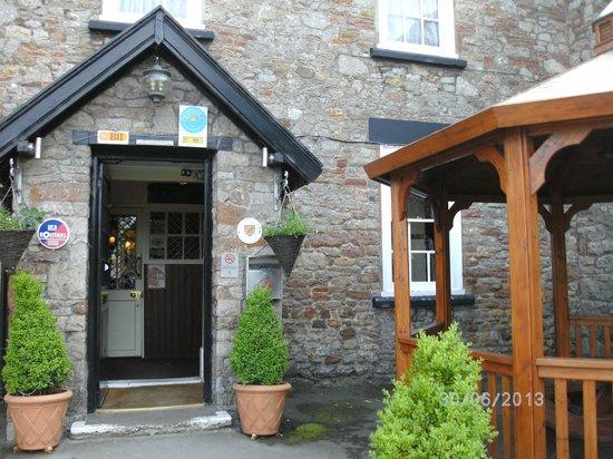 The Langford Inn: The entrance