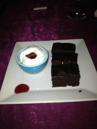 Manzara Restaurant: Chocolate Brownies