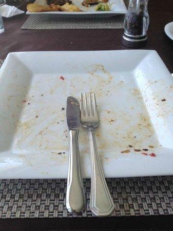 Manzara Restaurant: Clean plate, everytime!