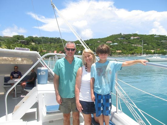 Cruz Bay Watersports: My family