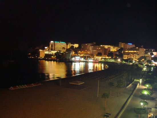 Hotel Son Matias Beach: View from Balcony at night