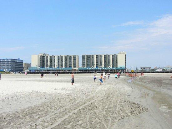Wildwood Beach: Five mile beach