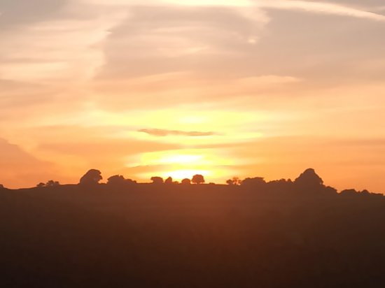 Shallow Grange Farm Campsite : Amazing sunset views