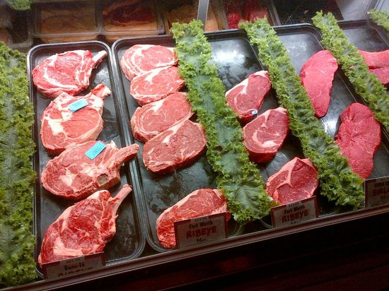 Texas Roadhouse: Selection of cuts