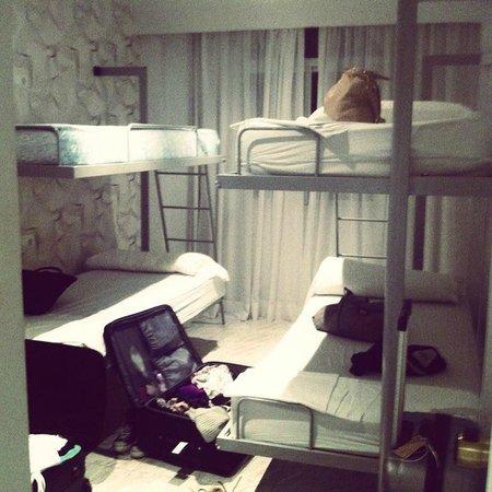 Sotavento Apartments: 6 Person room bedroom