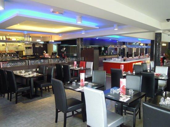 Aulnay-sous-Bois, Frankrijk: restaurant tendance