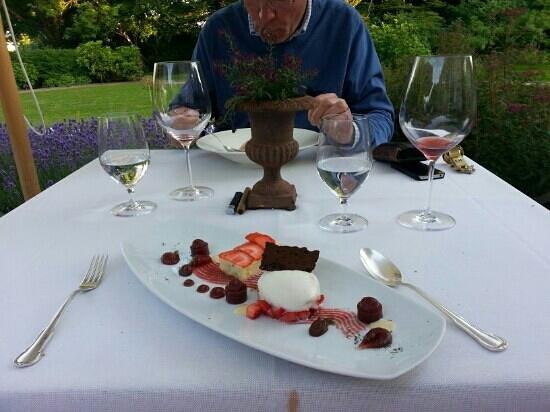 Romantik Hotel Kieler Kaufmann: nice deserts