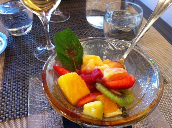 Hotel Du Parc : Lovely fruit sorbet