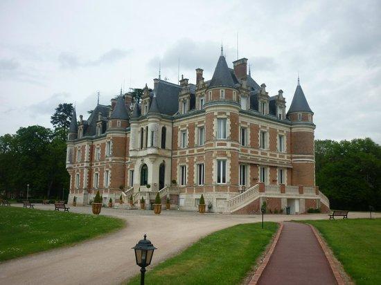Hotel Club Vacanciel La Ferte-Imbault: vue chateau