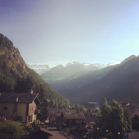 Le Vieux Rascard: Monte Rosa dalla camera