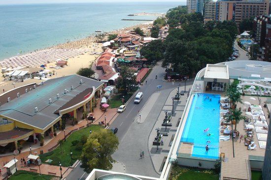 INTERNATIONAL Hotel Casino & Tower Suites: Sea view
