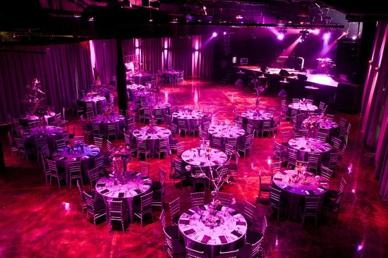 Minglewood hall: seated private event