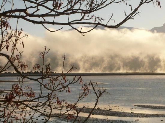 Ard Daraich: Loch Linnhe and a morning mist.