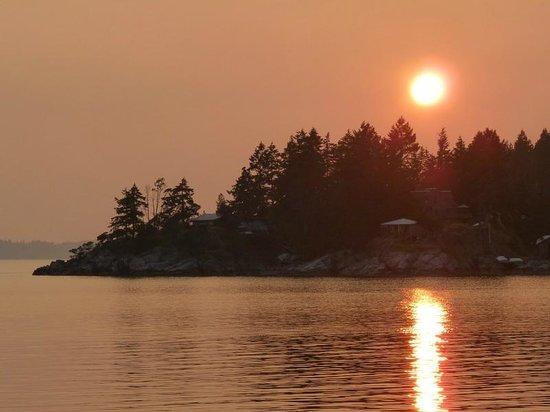 هيستوريك لوند هوتل: Sunset