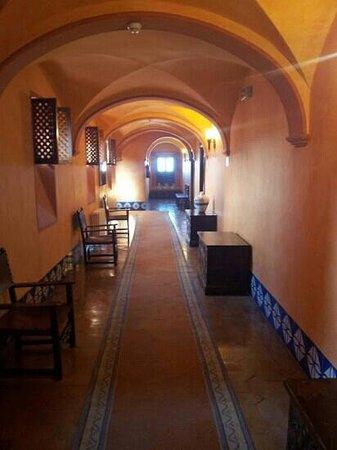 Parador Arcos de la Frontera: couloir