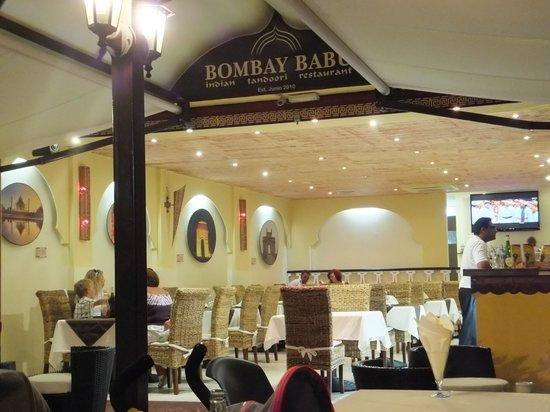 Bombay Babu Torviscas: Entrance to the Bombay Babu