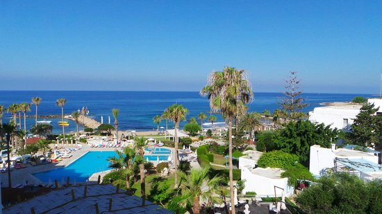 Geroskipou, Kıbrıs: Widok z pokoju nr 332