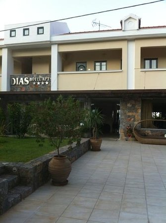 Dias Hotel & Apartments : front of apartments