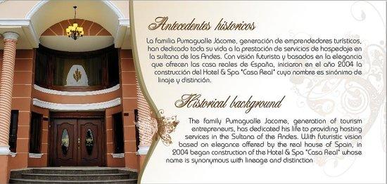 Casa Real Hotel & Spa: nuestra historia