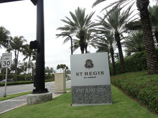 The St. Regis Bal Harbour Resort: Magnifico!!!