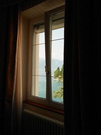 Golf-Hotel Rene Capt: Lakeside view room window