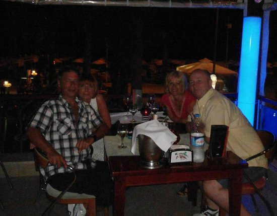 Coco Beach Restaurant : A birthday evening