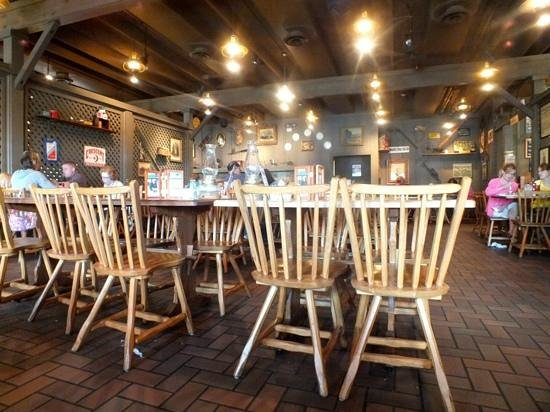 Inside The Barrel Picture Of Cracker Barrel Old Country Store And Restaurant Urbana Tripadvisor