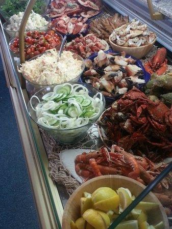 Covesea Cafe: seafood buffet evening