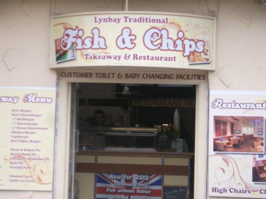 Lynbay Fish and Chips : lanbay fish and chips