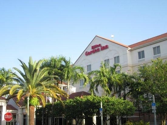 Hilton Garden Inn Ft. Lauderdale SW/Miramar: Front of Hotel