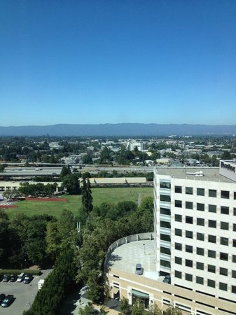 Hilton San Jose: View from my room