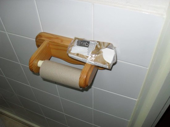 Kingsholm Hotel: Ran out of loo roll!