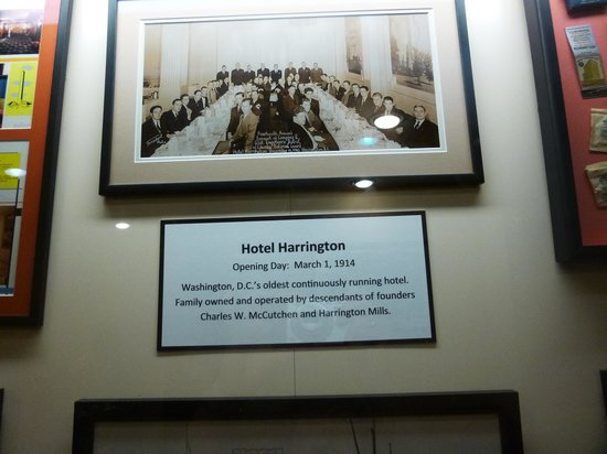 Picture inside Hotel Harrington