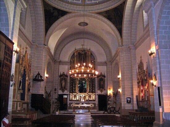 Iglesia Nuestra Senora de los Angeles: Interior