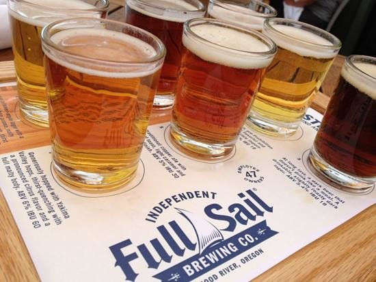 Full Sail Brewing Company : sampler