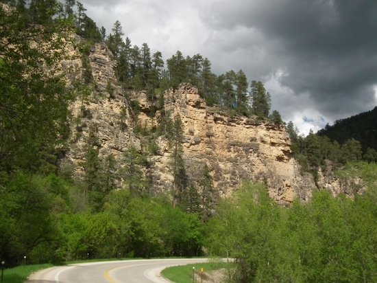 Spearfish Canyon Lodge: Spearfish Canyon