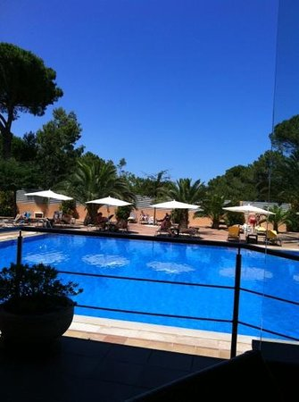 Hotel Restaurante Sa Punta: Desde una de las mesas terraza fantastica