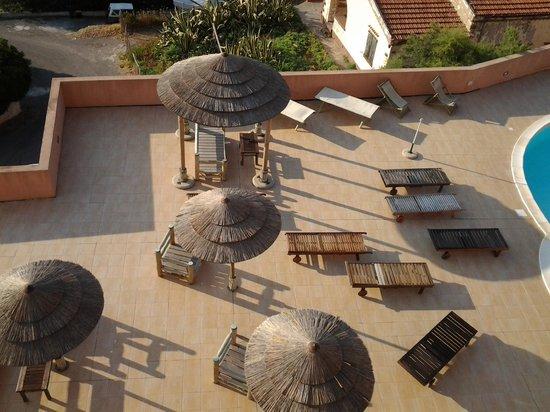 Hotel la Baja: Il bar esterno