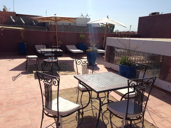 Riad Shaloma: roof top