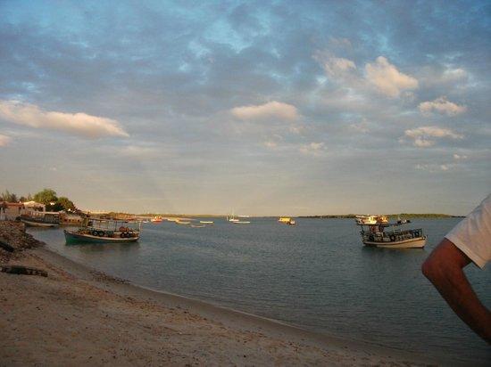 Galinhos: Praia do pier