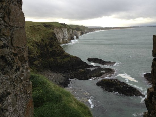Knock Bed And Breakfast Portstewart: View from a Castle a couple of miles up the coast