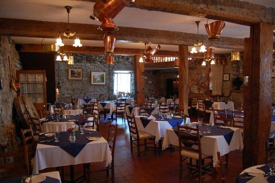 Moulin de St-Laurent- Restaurant- Chalets: beautiful interior